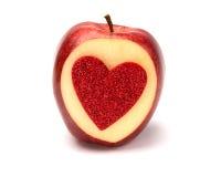 Apple της αγάπης Στοκ Φωτογραφία