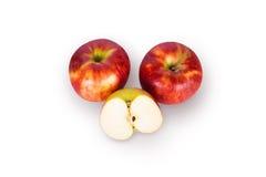 Apple τμηματική Στοκ Φωτογραφία