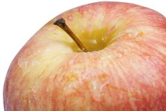 Apple φρέσκια που απομονώνει στο άσπρο υπόβαθρο Στοκ Εικόνες