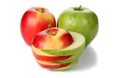 Apple отрезал в ломтики стоковые фото