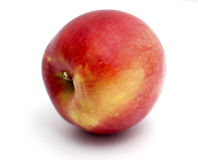 Apple_01. Red apple on a white background Stock Images