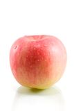 Apple. One apple on white background Stock Images