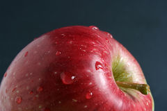 Apple. Red apple, blob and apple, vitamins Royalty Free Stock Images