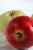 Apple. S, red , yellow Royalty Free Stock Photos