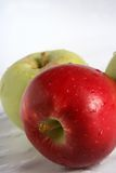 Apple. S, red , yellow Royalty Free Stock Photography