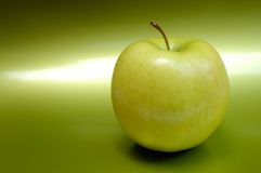 Apple. Green apple Royalty Free Stock Images
