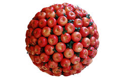 Apple. Ball consists of a lot of fresh apples royalty free stock image