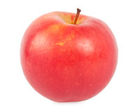 Apple. Ripe red apple isolated on a white Stock Image