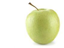 Apple. Ripe apple isolated over a white background royalty free stock photo