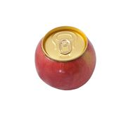 Apple. Red apple isolatet on white background stock images