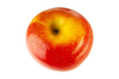 Apple. Fresh apple on white background Royalty Free Stock Image