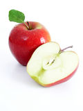 Apple. Isolated Stock Images