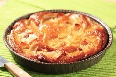 Торт губки Apple Стоковые Изображения