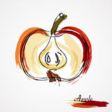 Apple stock de ilustración
