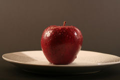 Apple. On a withe background Royalty Free Stock Photography