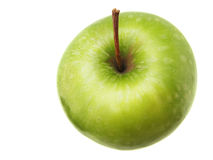Apple. On white. See my other images of s Royalty Free Stock Image