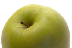 Apple. Green apple isolated over white Stock Photos