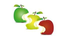 Apple ilustração stock