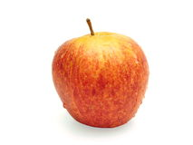 Apple. Red apple on white background Royalty Free Stock Photo