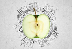 Apple stock illustrationer
