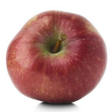 Apple. A red apple on white Royalty Free Stock Photography