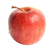 Apple. Ripe apple on a white background Stock Image