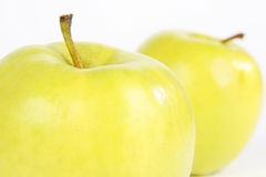 Apple. Very tasty and juicy green apple stock image