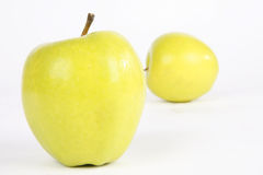 Apple. Fresh and juicy green apples stock photography