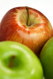 Apple 7. Photograph in study of the fruit, showing details Royalty Free Stock Photography