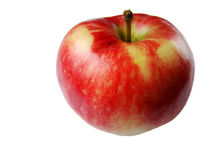 Apple. In the white background stock photos