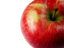 Apple. In the white background royalty free stock photography