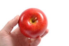 Apple. Hand Royalty Free Stock Image