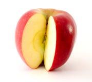 Apple. Isolated on white background Royalty Free Stock Image