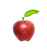 Apple. Isolated on white background Royalty Free Stock Images