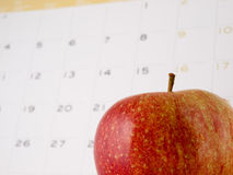 Daily apple Royalty Free Stock Photo