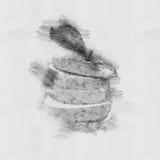 Apple  Иллюстрация вектора