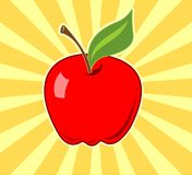 Apple-Abbildung stock abbildung