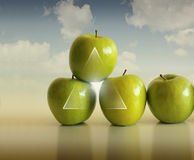 Free Apple Abstraction Royalty Free Stock Photography - 15465007