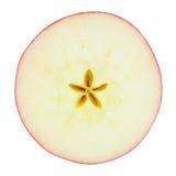 Apple affetta Fotografia Stock Libera da Diritti
