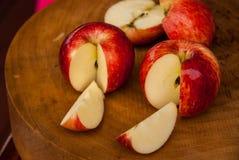Apple affettato Fotografia Stock Libera da Diritti