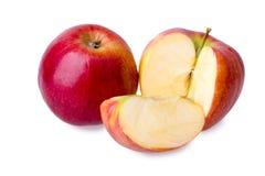 Apple affettato fresco Fotografie Stock