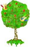 Apple-albero Immagine Stock Libera da Diritti