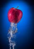 Apple alcanza gran altura rápida y súbitamente fotografía de archivo