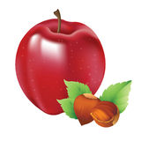 Apple Almond Stock Images