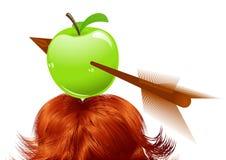 Apple-alvo ilustração stock