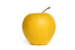 Apple amarillo Imágenes de archivo libres de regalías
