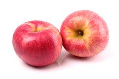 Apple amarillo rojo Fotografía de archivo libre de regalías