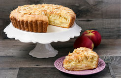 Free Apple And Almond Pie Royalty Free Stock Photos - 28245898