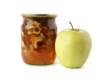 Apple And Apple Jam Stock Images