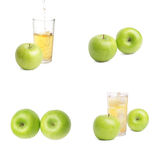 Apple And Juice Stock Image